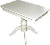 Обеденный стол Аврора Фабрицио Мини-1 90x60 (тон 9/эмаль белая) -