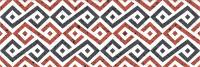 Декоративная плитка Gracia Ceramica Molle Red Decor 01 (300x900) -