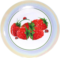 Набор тарелок Добруш Идиллия Малинка / 6С2476/1Ф34 (6пр) -