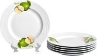 Набор тарелок Добруш Голубка Зеленое яблоко / 9С2693Ф34 (6пр) -