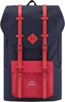 Рюкзак Himawari Okta HW-1902 (темно-синий/красный) -