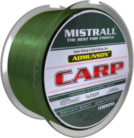 Леска монофильная Mistrall Admunson Carp Camouglage 0.25мм 1000м / ZM-3360025 -