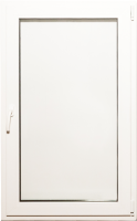Окно ПВХ Добрае акенца Поворотно-откидное 3 стекла (1200x800) -