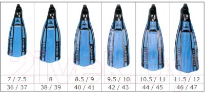 Ласты Aqua Lung Sport Stratos 202300 (лайм, р. 36-37)