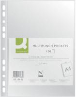Файл-вкладыш Q-Connect Стандарт A4 / KF15632 (100шт) -