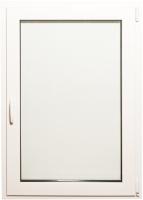 Окно ПВХ Добрае акенца Поворотно-откидное 3 стекла (900x700) -