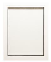 Окно ПВХ Добрае акенца Глухое 2 стекла (800x600) -