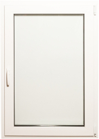 Окно ПВХ Добрае акенца Поворотно-откидное 2 стекла (900x700) -