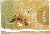 Авторская картина ХO-Gallery Пикник-2 / ТР-2020-002 -