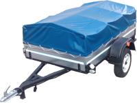 Прицеп для автомобиля ТитаН 2000 оцинкованный (тент и каркас 350мм) -