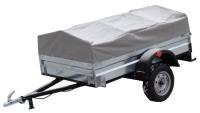 Прицеп для автомобиля ТитаН 2500 оцинкованный (тент и каркас 350мм) -