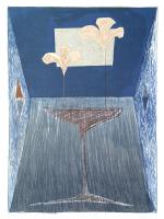 Авторская картина ХO-Gallery Ночные цветы / ТР-2020-013 -