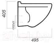 Унитаз подвесной с инсталляцией Sanita Luxe Attica SL DM ATCSLWH0104 + 38775001