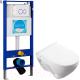 Унитаз подвесной с инсталляцией Sanita Luxe Attica SL DM ATCSLWH0104 + INS-0000002 -