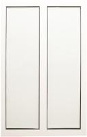 Окно ПВХ Добрае акенца Глухой двухстворчатый 2 стекла (1300x900) -