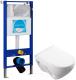 Унитаз подвесной с инсталляцией Sanita Luxe Attica SL DM ATCSLWH0104 + INS-0000004 -