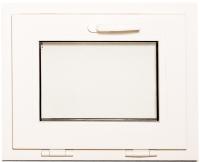 Окно ПВХ Добрае акенца С откидной створкой 2 стекла (450x550) -