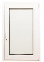 Окно ПВХ Добрае акенца С поворотно-откидной створкой 2 стекла (1200x800) -