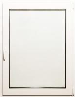 Окно ПВХ Добрае акенца С поворотно-откидной створкой 2 стекла (1200x900) -