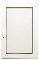 Окно ПВХ Добрае акенца Поворотно-откидное 2 стекла (1300x800) -