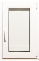 Окно ПВХ Добрае акенца С поворотно-откидной створкой 2 стекла (800x500) -