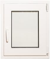Окно ПВХ Добрае акенца С поворотно-откидной створкой 2 стекла (600x500) -