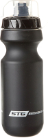 Бутылка для воды STG CSB-542M / Х88766 с крышкой (600мл, черный) -