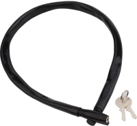 Велозамок Kryptonite Cables Keeper 665 Key CBL (черный) -