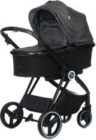 Детская универсальная коляска Babyzz В102 2 в 1 (серый) -