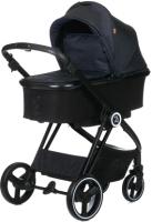 Детская универсальная коляска Babyzz В102 2 в 1 (синий) -