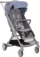 Детская прогулочная коляска Babyzz Prime (серый/голубой) -