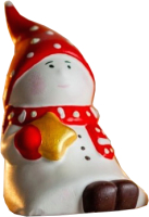Статуэтка Нашы майстры Гном со звездой / 2028 (декорированная) -