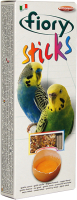 Лакомство для птиц Fiory Палочки для попугаев с яйцом / 2550 (60г) -