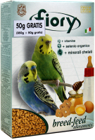Корм для птиц Fiory Breed-feed для разведения волнистых попугаев / 6016 (400г) -
