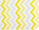 Простыня детская Martoo Comfy / СM160x80-1-YGZ (желтый/серый, зигзаг) -