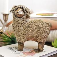 Статуэтка Нашы майстры Овца / 3056 (декорированный) -