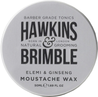 Воск для укладки бороды Hawkins & Brimble Elemi & Ginseng Moustache Wax для усов (50мл) -