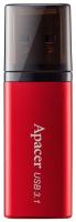 Usb flash накопитель Apacer AH25B 32GB Red (AP32GAH25BR-1) -