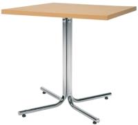 Обеденный стол Nowy Styl Karina Chrome 80x80 -