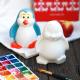 Статуэтка Нашы майстры Пингвин / 7009 (декорированная) -