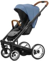 Детская прогулочная коляска Mutsy I2 Heritage (Bright Blue/Black) -