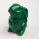 Статуэтка Нашы майстры Кролик 2 / 3042 (зеленый в черную крапинку) -