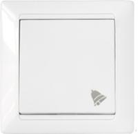 Кнопка звонка Bylectrica Стиль С1 4-895 (белый) -