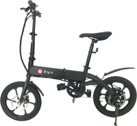 Электровелосипед Dyu A1F (черный) -