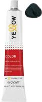 Крем-краска для волос Yellow Color Rich Cool 4 (100мл) -