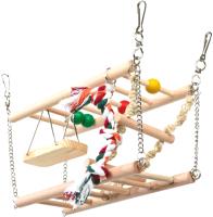 Игровая площадка для грызунов Trixie Подвесной мост / 6273 -