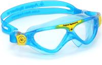 Очки для плавания Aqua Sphere Vista Jr MS1744307LC (бирюзовый/желтый) -