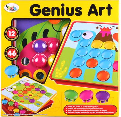 Развивающая игрушка Darvish Детская мозаика. Кнопочки / DV-T-132A