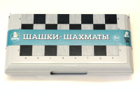 Набор игр Десятое королевство Шашки и шахматы / 03885 -