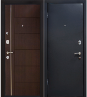 Входная дверь МеталЮр М25 Венге (86х205, левая) -